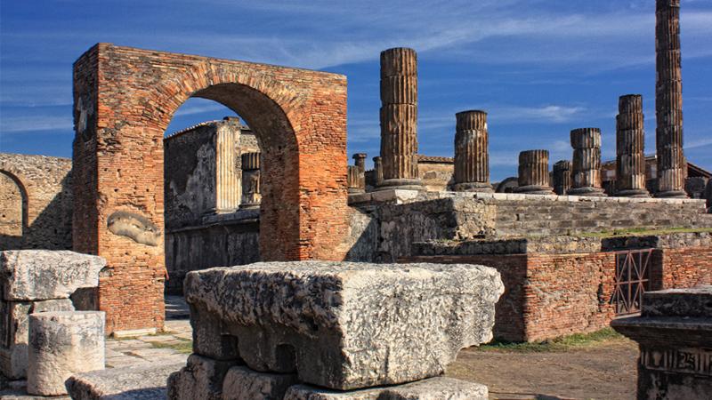 Pompeii, Vesuvius and Herculaneum tour