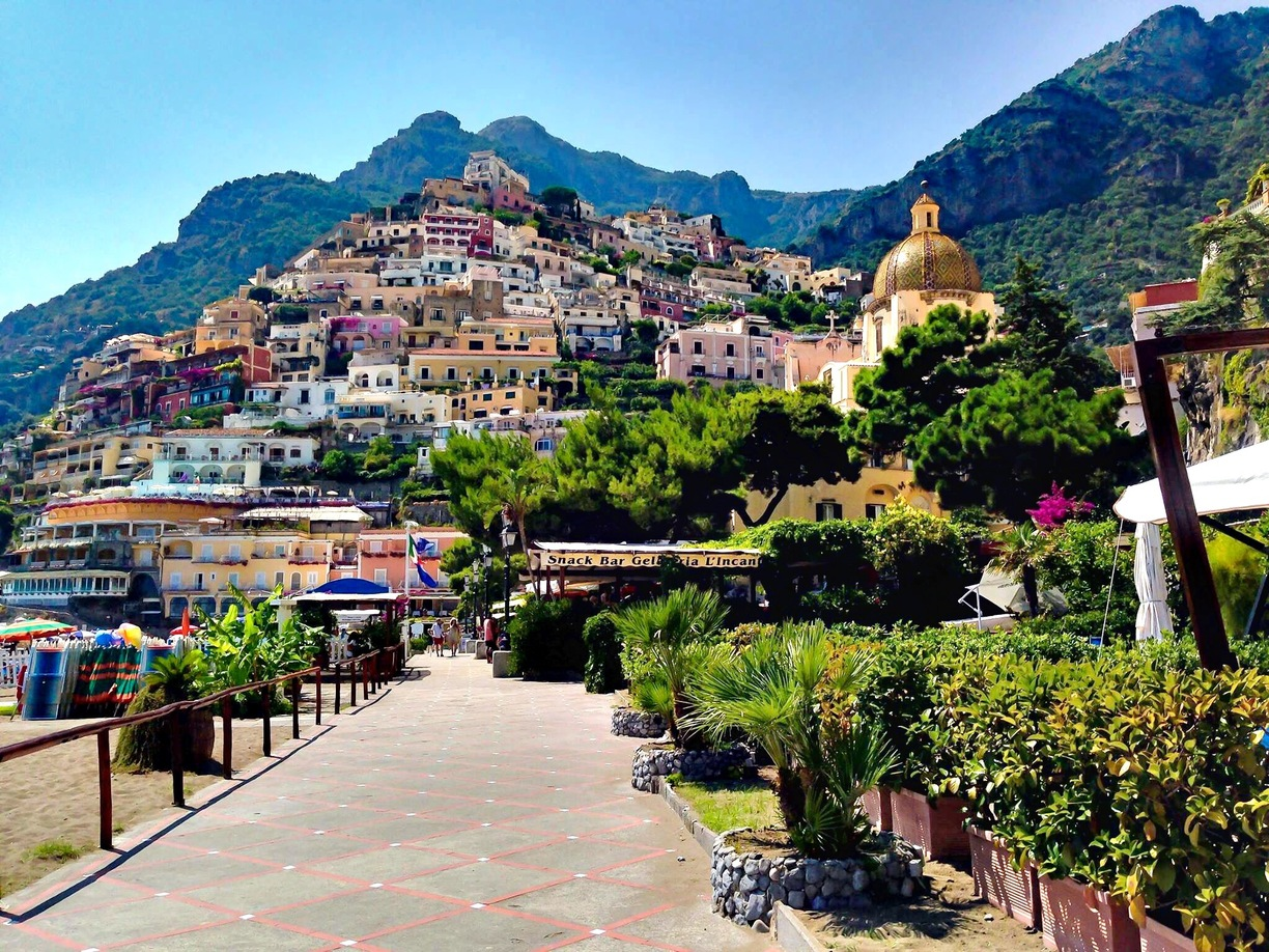 Italy Share Shore Excursions Positano And Amalfi Share